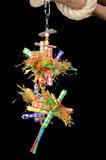 Pendant Straw - dieca - papegaaienspeelgoed 3