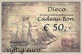 4* Dieca cadeaubon € 50,-_